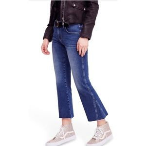 NWT | FREE PEOPLE | Cropped Flare Jean  | Size 24
